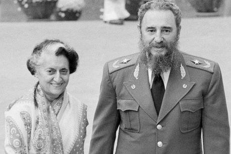Lanh tu Fidel Castro: Nguoi ban lon cua nhan dan An Do - Anh 1