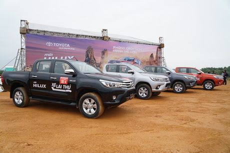 Off-road cung Toyota Hilux 2016 - Anh 3