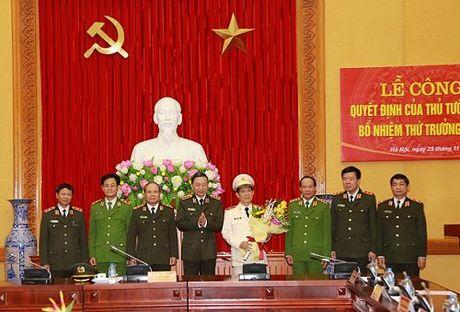 Bo Cong an co Thu truong moi - Anh 1