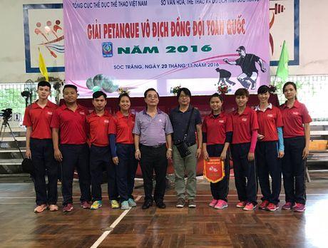 Bi sat Ha Noi gianh HCV dau tien tai Giai vo dich dong doi toan quoc nam 2016 - Anh 1