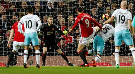 Mourinho bi truat quyen chi dao, M.U chi co 1 diem truoc West Ham - Anh 4