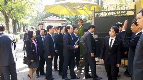 Tong bi thu Nguyen Phu Trong vieng ong Fidel Castro - Anh 3