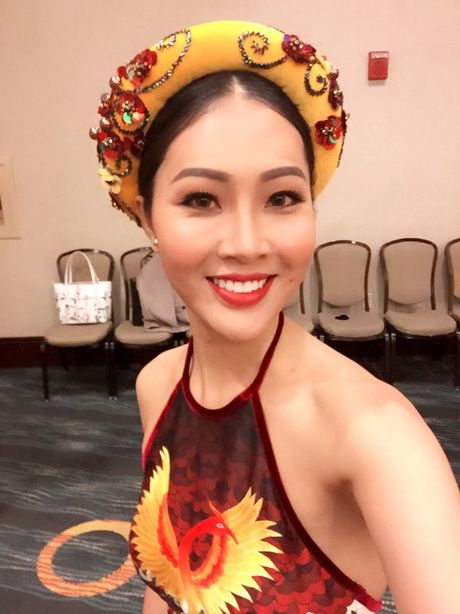 Dieu Ngoc gap su co truoc phan thi tai nang tai Miss World - Anh 2