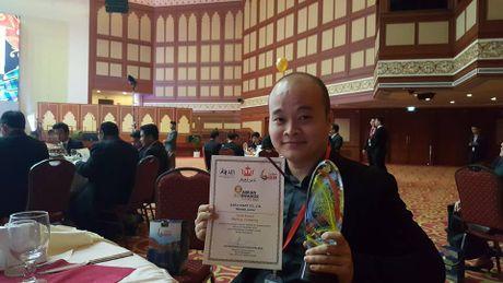 Start-up Viet dat giai vang Giai thuong ASEAN ICT Awards - Anh 1