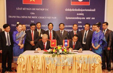 Thanh tra Chinh phu Viet Nam va Lao tang cuong hop tac - Anh 1