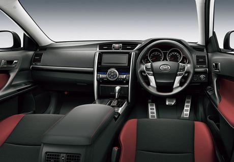 Mark X 2016 'nguoi anh' dang cap cua Toyota Camry xuat hien - Anh 3