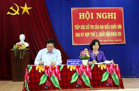 Chanh an TANDTC Nguyen Hoa Binh: Nhan dan phai duoc huong phuc loi xa hoi tot nhat - Anh 3