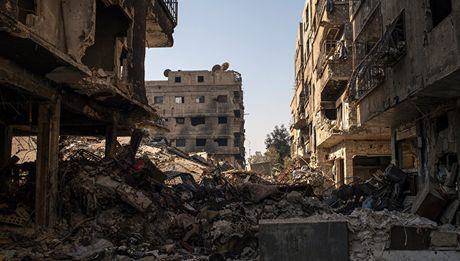 My muon 'quyet xong' Syria truoc le nham chuc cua ong Trump - Anh 1