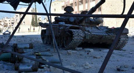 Quan doi Syria tai chiem 1/3 dien tich dong Aleppo - Anh 1