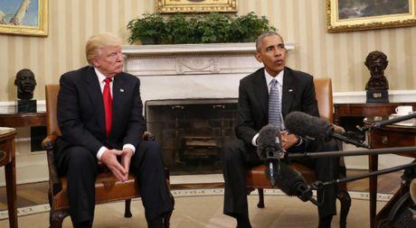 Tong thong Obama danh them thoi gian de 'huong dan' cho ong Trump - Anh 1