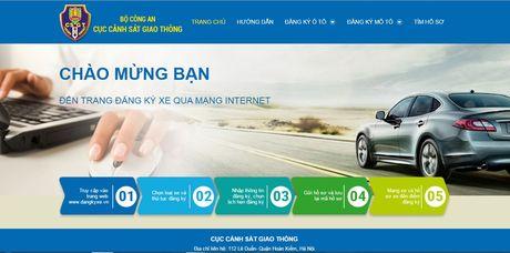Thi diem dang ky sang ten doi chu qua mang tai Ha Noi va TP. Ho Chi Minh - Anh 2
