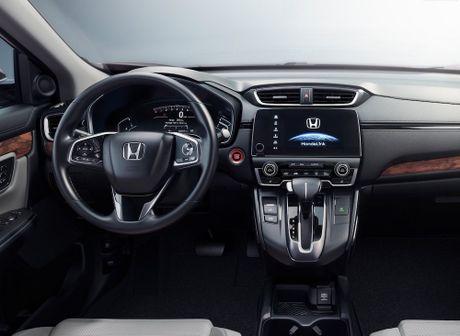Honda CR-V 2017 'an' it xang nhat phan khuc - Anh 2