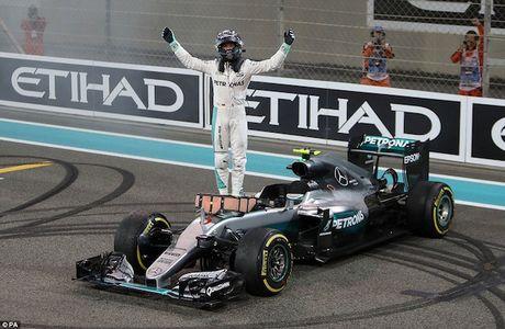 Nico Rosberg cam on bo me vi giac mo vo dich F1 - Anh 5