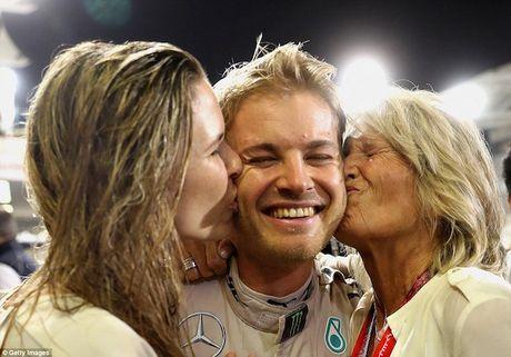 Nico Rosberg cam on bo me vi giac mo vo dich F1 - Anh 7