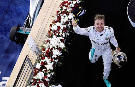 Nico Rosberg cam on bo me vi giac mo vo dich F1 - Anh 8