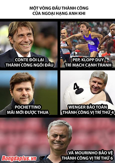 Anh che: Mourinho duoi theo top 4 trong vo vong - Anh 2