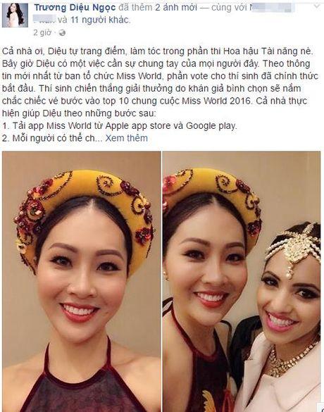 "Fan san sang giup Dieu Ngoc tai cuoc thi ""Hoa hau The gioi"" - Anh 10"