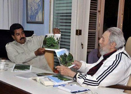 Lanh dao nhieu nuoc My Latinh coi Fidel Castro la vi nhan thoi dai - Anh 2