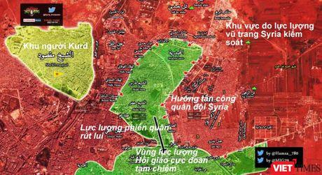 Quan doi Syria don dap tan cong, giai cuu 10.000 dan thuong o Aleppo - Anh 1