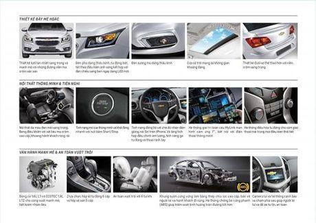 Chevrolet Cruze ban nang cap co gia tu 589 trieu dong - Anh 2
