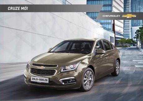 Chevrolet Cruze ban nang cap co gia tu 589 trieu dong - Anh 1