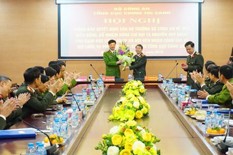 Bo nhiem Pho Giam doc Cong an Ha Noi lam Pho Tong Cuc truong Tong cuc Canh sat - Anh 1