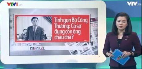 Diem bao ngay 28/11/2016: Tinh gon Bo Cong Thuong, co so dung 'con ong chau cha'? - Anh 1