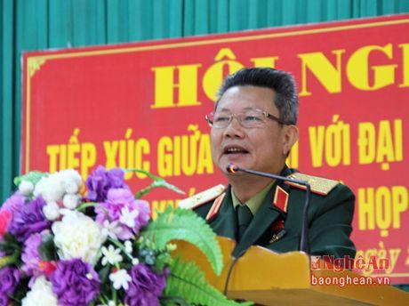 Bi thu Tinh uy Nguyen Dac Vinh tiep xuc cu tri tai Thi xa Hoang Mai - Anh 3
