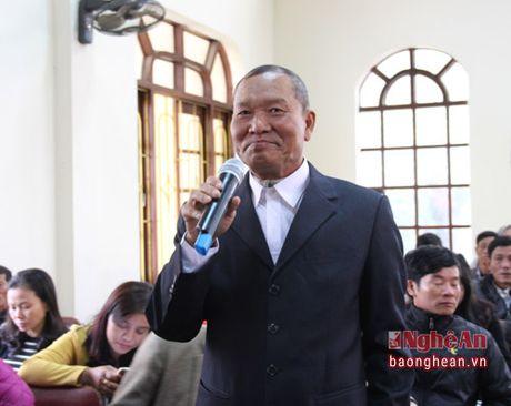 Bi thu Tinh uy Nguyen Dac Vinh tiep xuc cu tri tai Thi xa Hoang Mai - Anh 5