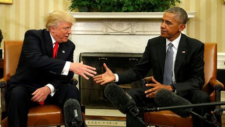 Ong Trump 'rat thich' noi chuyen voi Tong thong Obama - Anh 1