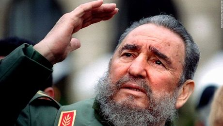 Viet Nam de quoc tang lanh tu Cuba Fidel Castro 1 ngay - Anh 1