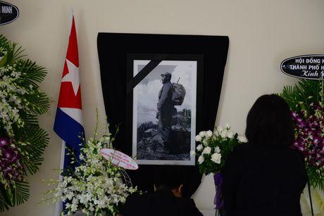 Bi thu Dinh La Thang vieng lanh tu Fidel Castro - Anh 6