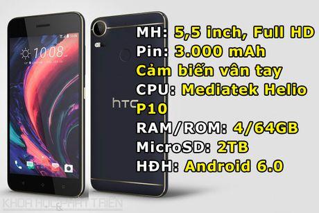 2 smartphone tam trung cua HTC sap len ke tai Viet Nam - Anh 1