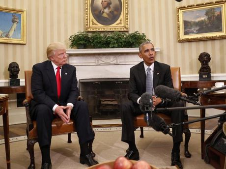 Obama 'day them gio' cho Trump - Anh 1