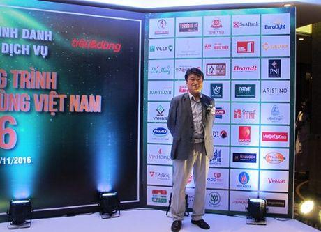 Thuc pham Duc Viet duoc vinh danh san pham Tin Dung 2016 - Anh 2