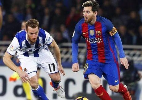 Real Sociedad 1-1 Barcelona: Ga khong lo gap kho - Anh 1