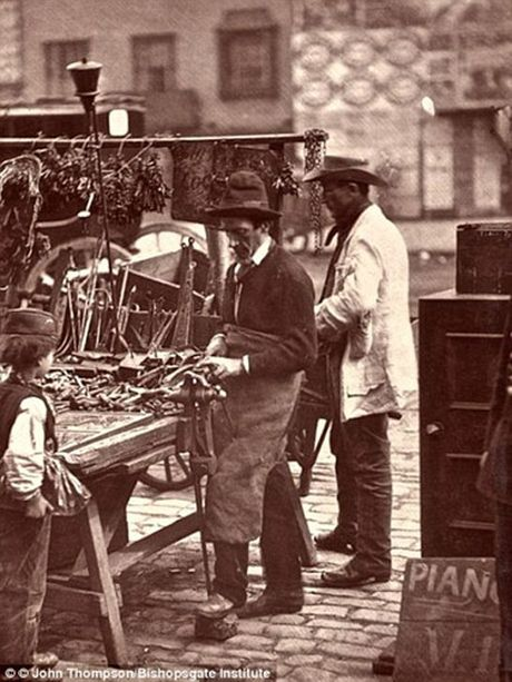Nhung buc anh hiem hoi ve 'dan ngheo' nuoc Anh nhung nam 1870 - Anh 11