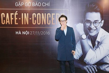 Ha Anh Tuan ky niem 10 nam ca hat bang Cafe-In-Concert - Anh 1