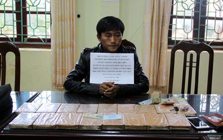 Khen thuong Ban chuyen an bat doi tuong, thu giu 17 banh heroin - Anh 2