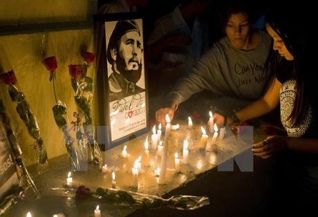 Le vieng co lanh tu cach mang Fidel Castro bat dau tai Cuba - Anh 1