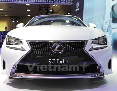 Lexus RC Turbo 2017 gia ban gan 3 ty dong co diem gi noi bat? - Anh 2