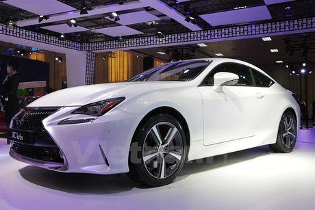 Lexus RC Turbo 2017 gia ban gan 3 ty dong co diem gi noi bat? - Anh 4
