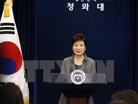 Ba Park Geun-Hye tu chuc khong anh huong cuoc gap Nhat-Han-Trung - Anh 1