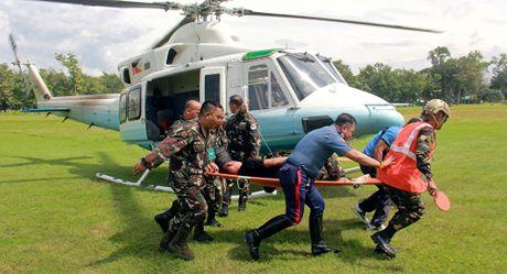 Doan xe an ninh cua Tong thong Philippines Duterte bi tan cong - Anh 1