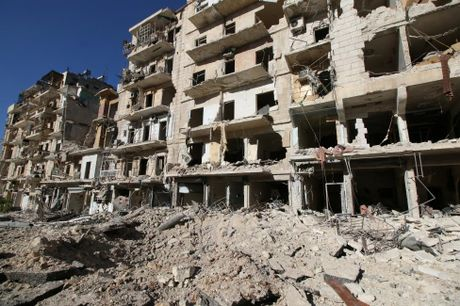 Loat anh moi nhat o chao lua Aleppo - Anh 8