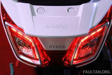 Kymco 'trinh lang' xe ga Downtown 250i gia 115 trieu - Anh 6