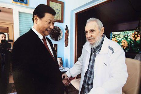 Khoanh khac lanh tu Fidel Castro ben cac chinh khach the gioi - Anh 6