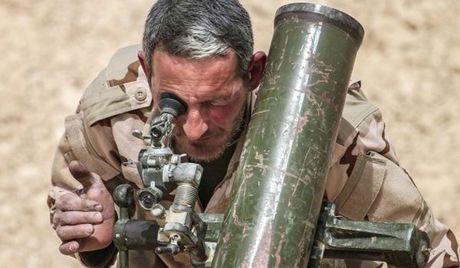 Quan doi Syria mo chien dich danh o tay nam tinh Aleppo - Anh 1