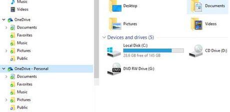 Sua loi File Explorer hien thi 2 thu muc OneDrive - Anh 1