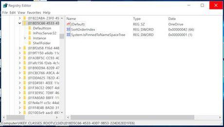 Sua loi File Explorer hien thi 2 thu muc OneDrive - Anh 2